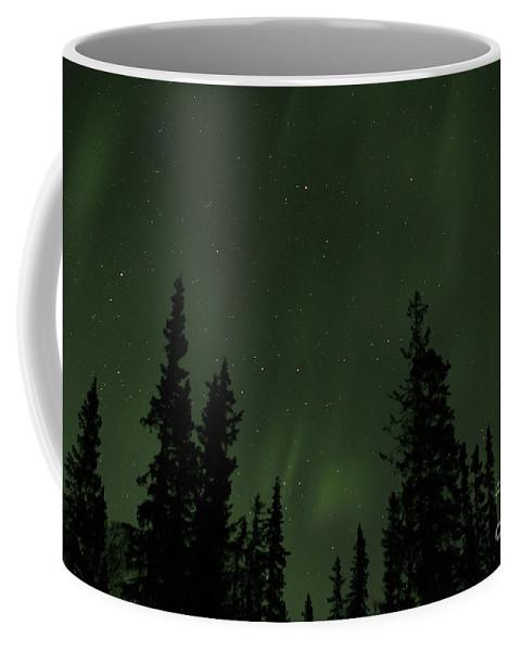 Sky Coffee Mug featuring the photograph Aurora Borealis by Rick Monyahan
