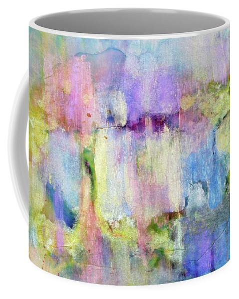 Polar Lights Or Northern Lights Coffee Mug featuring the painting Aurora by Don Wright