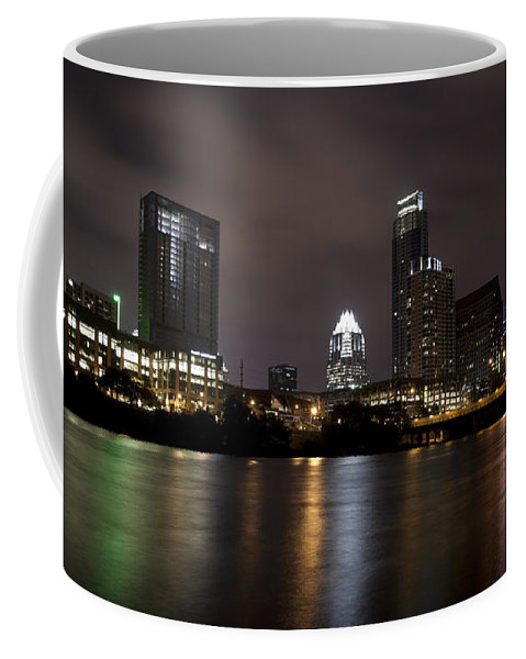 Town Lake Coffee Mug featuring the photograph Austin Texas by Anthony Totah