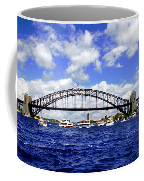 Australian Day Coffee Mug featuring the photograph Australian Day Is A Party Day On Sydney Harbour by Miroslava Jurcik