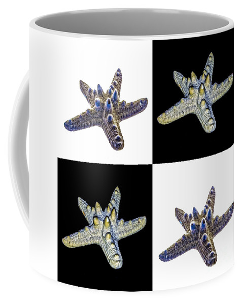 Composite Coffee Mug featuring the photograph Australian Starfish Composite Design by John Gaffen