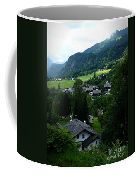 Austria Coffee Mug featuring the photograph Austrian Landscape by Carol Groenen