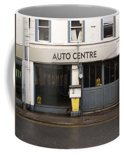 Auto Coffee Mug featuring the photograph Auto Centre by Tim Nyberg