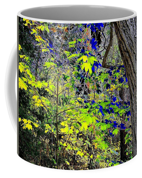 Surreal Coffee Mug featuring the photograph Autumn Blue by Will Borden