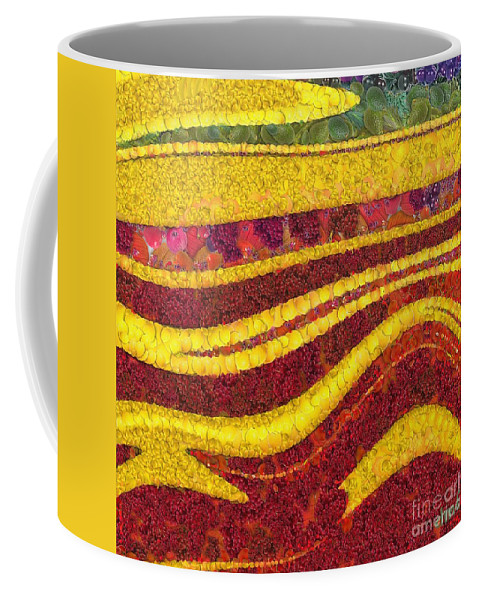 Autumn Coffee Mug featuring the painting Autumn by Dragica Micki Fortuna