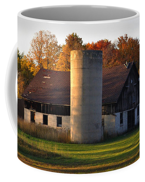 Fall Coffee Mug featuring the photograph Autumn Evening by Tim Nyberg