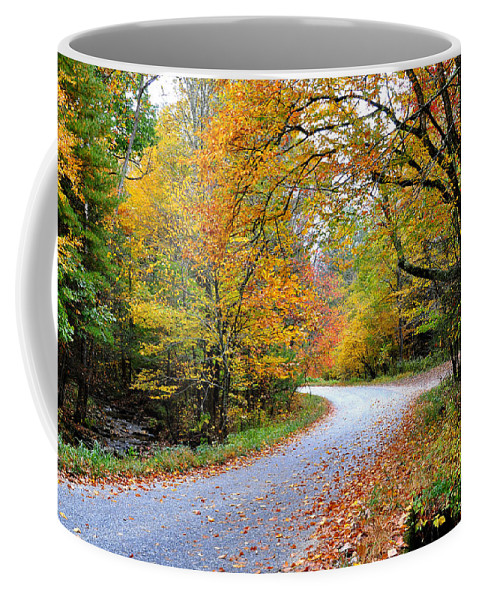 Autum Coffee Mug featuring the photograph Autumn Glory by Todd Hostetter