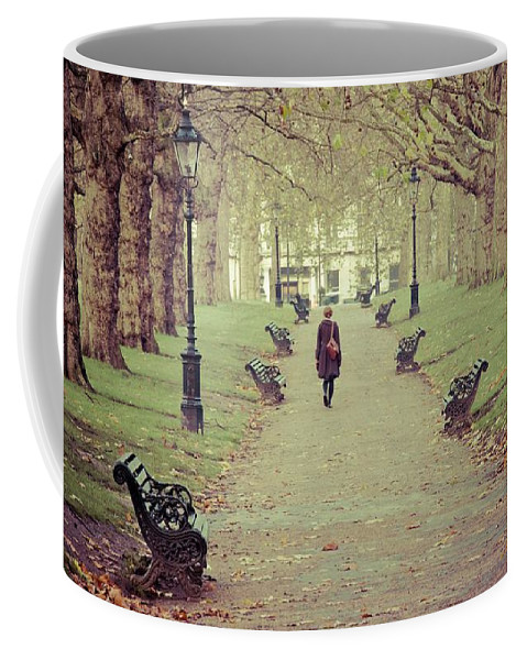 London Coffee Mug featuring the photograph Autumn In London by Adrian Brown