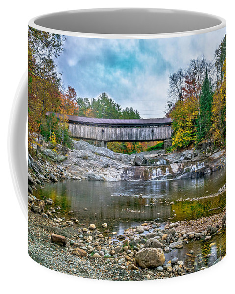 Landscape Coffee Mug featuring the photograph Autumn In The White Mountains by Ron Christie