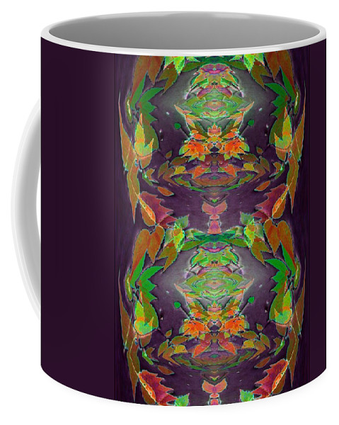 Autumn Coffee Mug featuring the photograph Autumn Leaf Delight by Tim Allen
