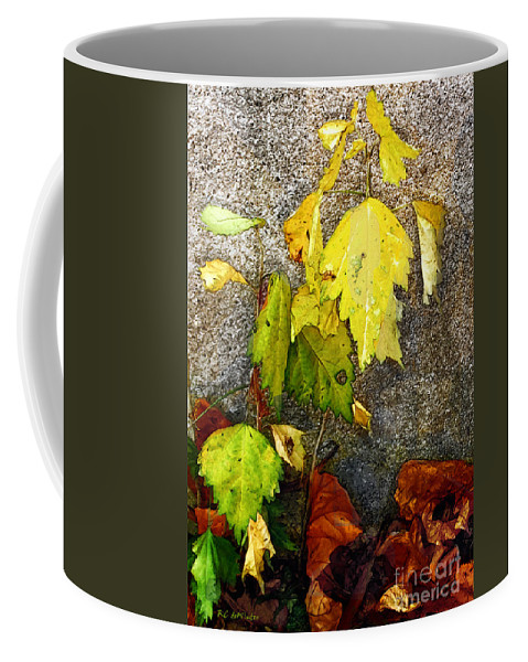 Autumn Coffee Mug featuring the painting Autumn Rainbow by RC DeWinter