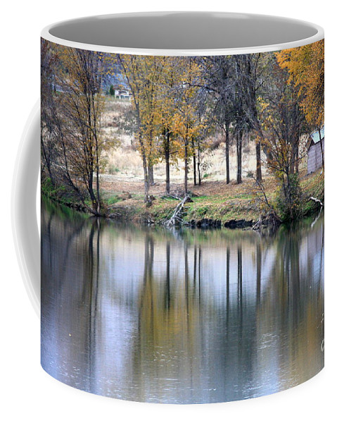 Fall Reflection Coffee Mug featuring the photograph Autumn Reflection 16 by Carol Groenen
