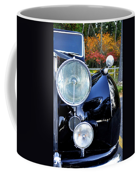 Car Coffee Mug featuring the photograph Autumn Rolls by Tim Nyberg
