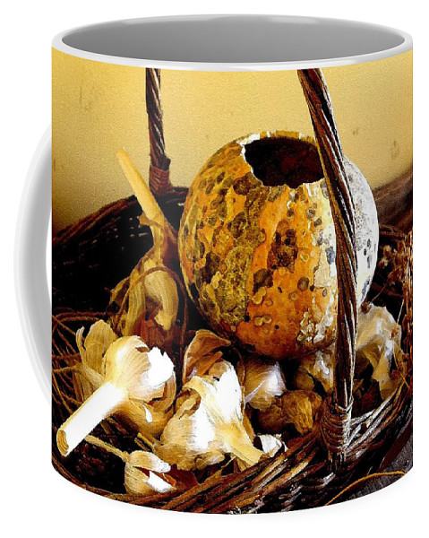 Still Life Coffee Mug featuring the photograph Autumn Still Life by Nelson Strong