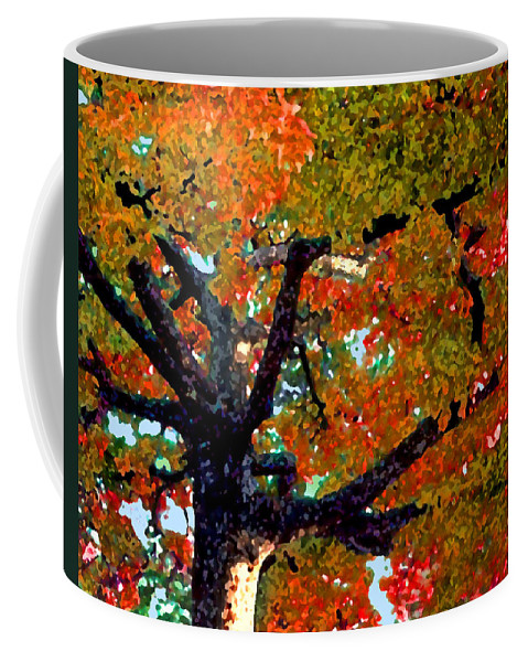 Fall Coffee Mug featuring the photograph Autumn Tree by Steve Karol