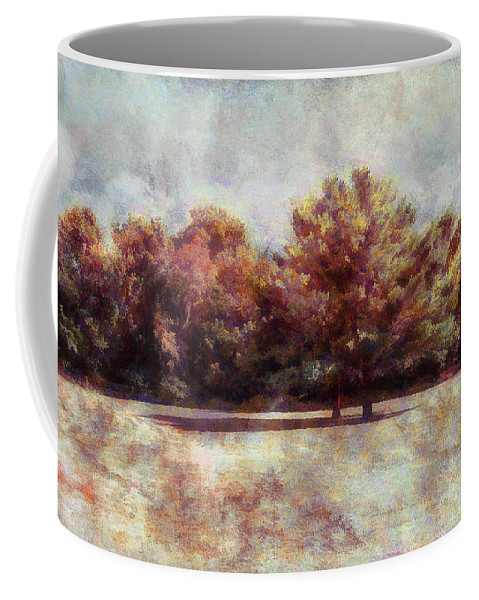 Trees Coffee Mug featuring the photograph Autumn Trees by Reynaldo Williams