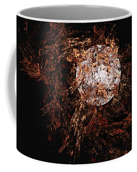 Digital Painting Coffee Mug featuring the digital art Autumn Wind 1 by David Lane