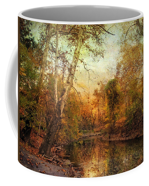 Autumn Coffee Mug featuring the photograph Autumnal Tones by Jessica Jenney