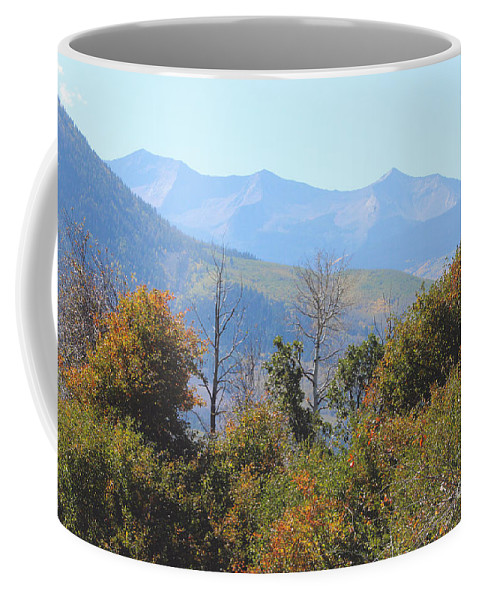 Fall Coffee Mug featuring the photograph Autumns Telltale Signs by Dale Jackson