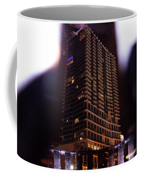 Mclenaghan Coffee Mug featuring the photograph Avant Garde Architecture Image In Orlando Florida by Travel Back And Forth