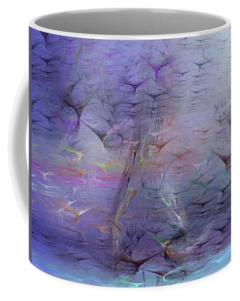Digital Painting Coffee Mug featuring the digital art Avian Dreams 3 by David Lane