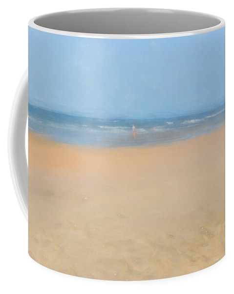 Beach Coffee Mug featuring the photograph Awe Inspired by Mim White