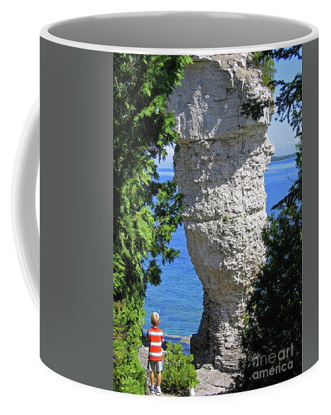 Stone Coffee Mug featuring the photograph Awesome All Around by Ann Horn