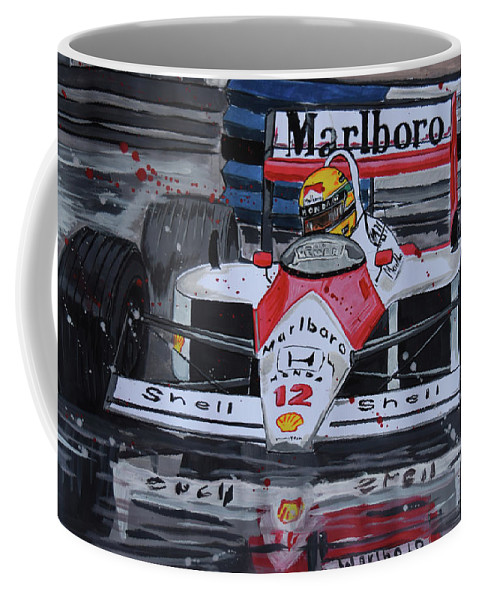 ayrton senna mclaren honda coffee mug for salevalentin domovic