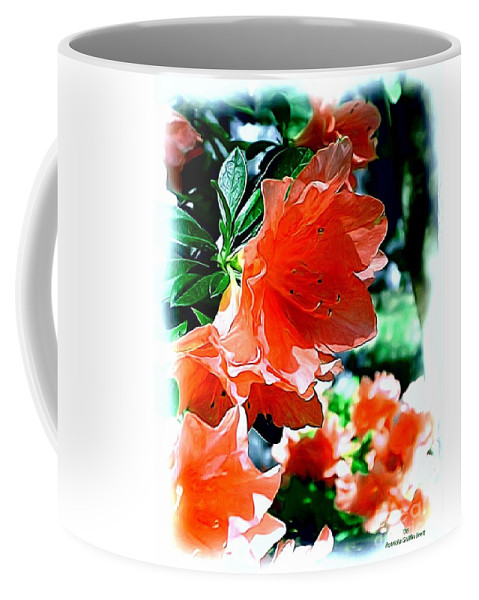 Fine Art Coffee Mug featuring the painting Azaleas In The Spring by Patricia Griffin Brett
