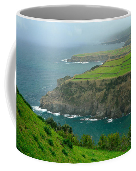 Azores Coffee Mug featuring the photograph Azores Coastal Landscape by Gaspar Avila