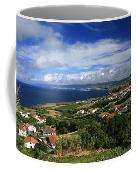 Archipelago Coffee Mug featuring the photograph Azores Islands Landscape by Gaspar Avila