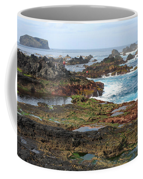 Atlantic Coffee Mug featuring the photograph Azores Seascape by Gaspar Avila