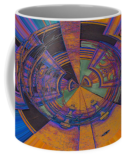 Abstract Coffee Mug featuring the photograph Aztec Abstract by Mykel Davis