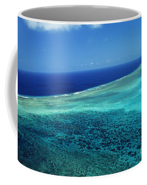Above Coffee Mug featuring the photograph Babeldoap Islands by Allan Seiden - Printscapes