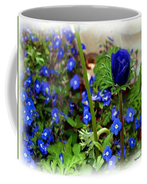 Fine Art Coffee Mug featuring the painting Babys Got The Blues by Patricia Griffin Brett
