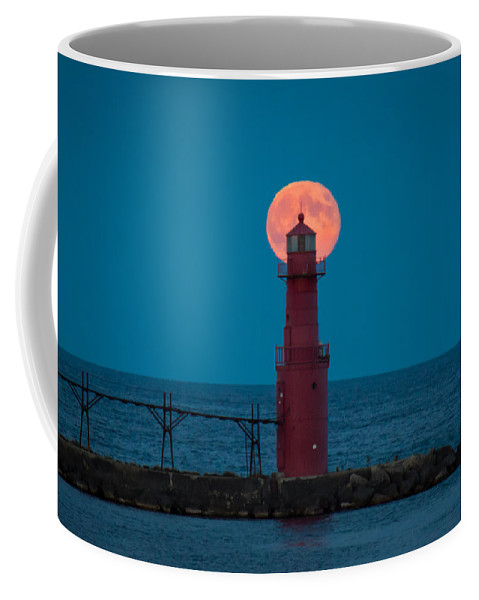 Lighthouse Coffee Mug featuring the photograph Backlighting II by Bill Pevlor