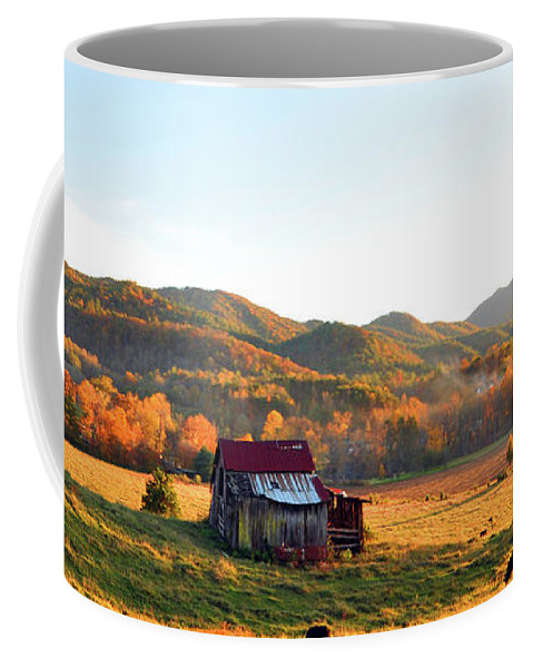 Tennessee Coffee Mug featuring the photograph Backroad by Brittany Horton