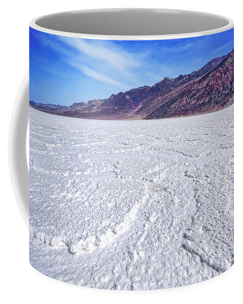 Badwater Coffee Mug featuring the photograph Badwater by Kelley King