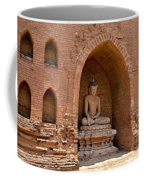 Coffee Mug featuring the photograph Bagan, Burma by Christopher Sammons