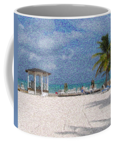 Lanscapes Coffee Mug featuring the digital art Bahamas by Julie Niemela