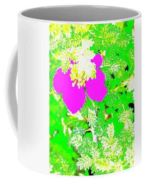 Baja Littleaf Rose Coffee Mug featuring the photograph Baja Littleaf Rose by Scott L Holtslander