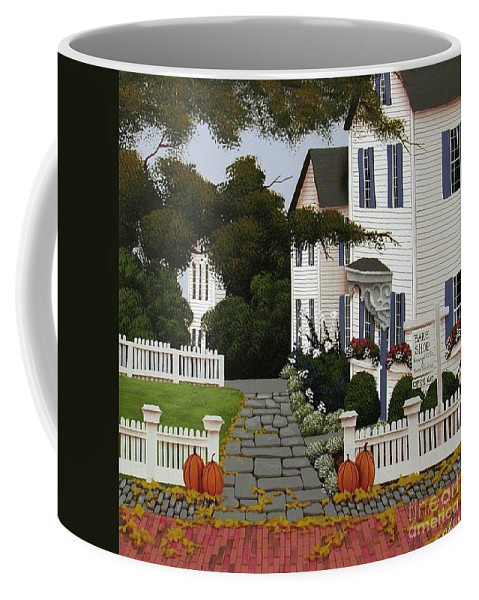 Art Coffee Mug featuring the painting Bake Shop by Catherine Holman