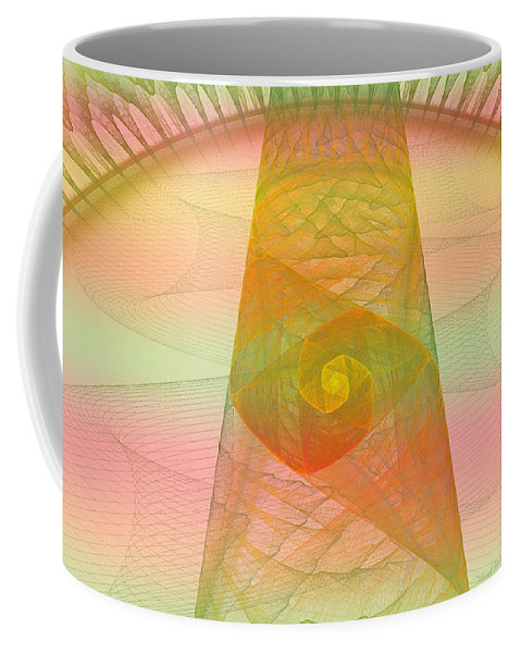 Digital Coffee Mug featuring the photograph Balance Of Energy by Deborah Benoit