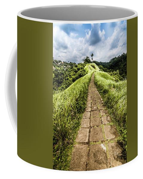 Bali Coffee Mug featuring the photograph Bali Landscape 4 by Jijo George
