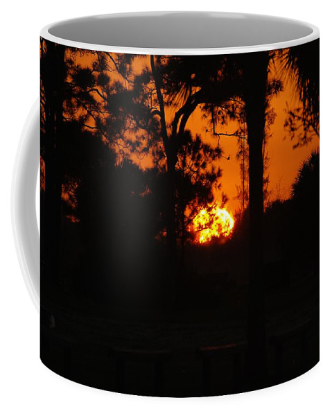 Nature Coffee Mug featuring the photograph Ball Of Sun by Rob Hans