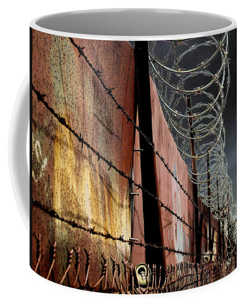 Wall Coffee Mug featuring the photograph Ballard In Seattle by Jeff Burgess