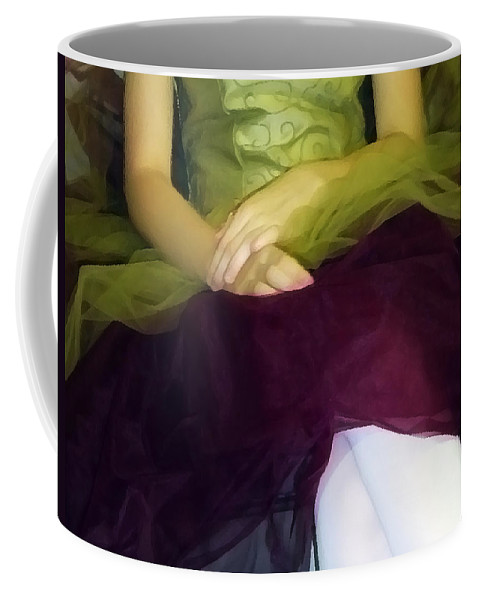 Abstract Coffee Mug featuring the photograph Ballerina Lap by Angelina Vick
