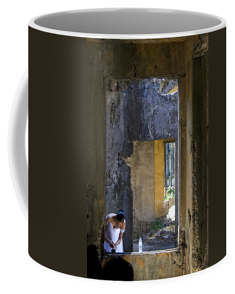 Ballet Dancer Coffee Mug featuring the photograph Ballet Dancer8 by George Cabig