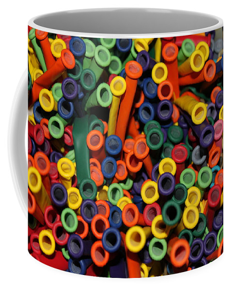 Balloons Coffee Mug featuring the photograph Balloons by Lauri Novak