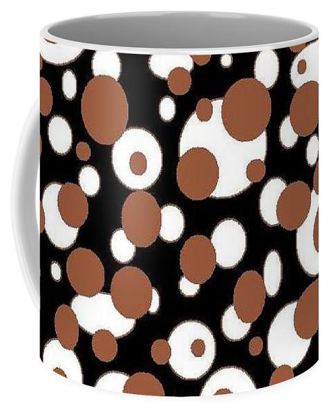 Coffee Mug featuring the digital art Balls by Jordana Sands